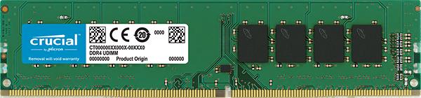 CRUCIAL 8GB DDR4 2666 MHZ.