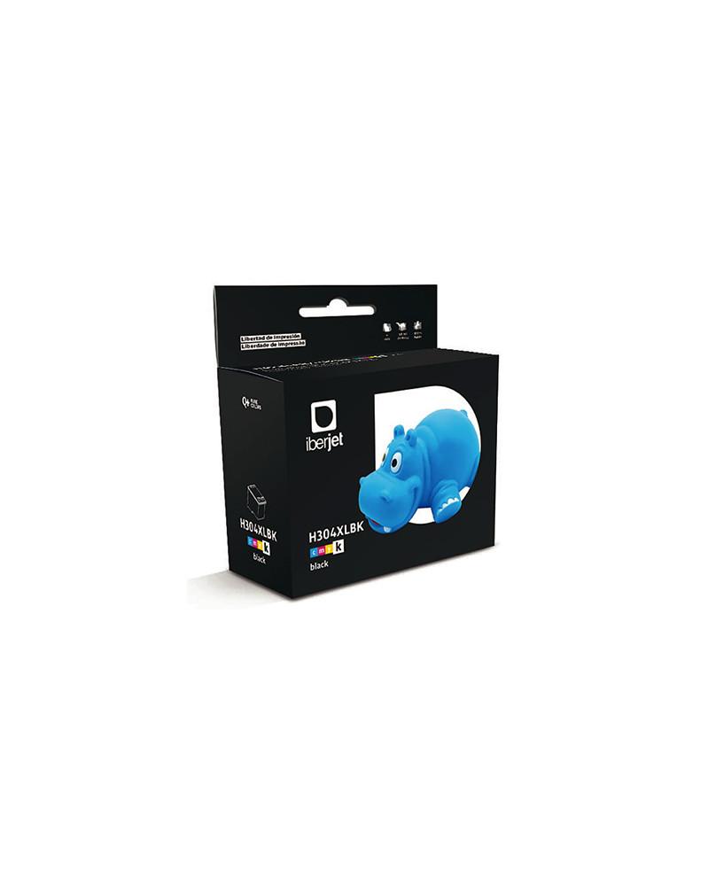 304XL Cartucho de tinta Negra HP (Compatible Iberjet)