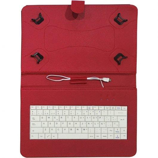 CV-3006 Funda con teclado para tablet de 10 pulgadas Talius