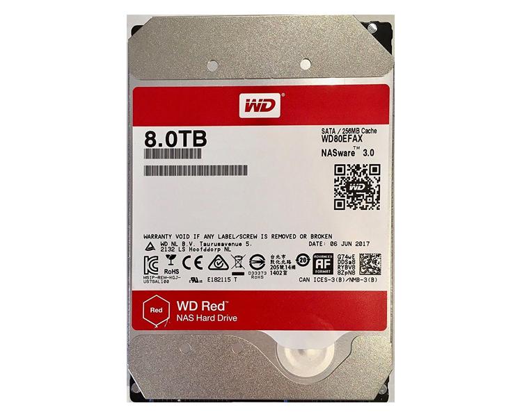 DISCO DURO 8 TB 3.5i SATA WD NAS RED