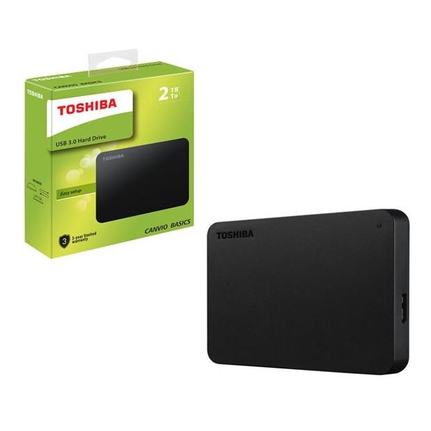 Disco externo 2 TB 2,5i. USB 3.0 Toshiba