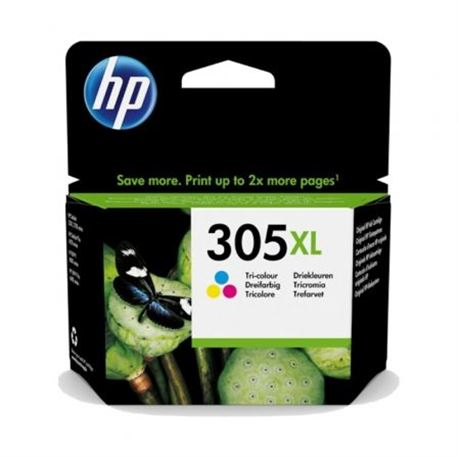 305XL Cartucho de tinta tricolor HP (200pg)