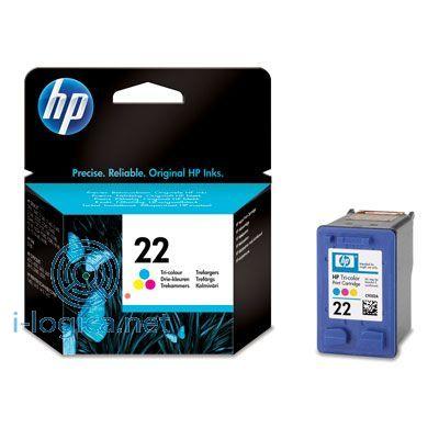 22 Cartucho de tinta Color HP (5ml)(165pg)