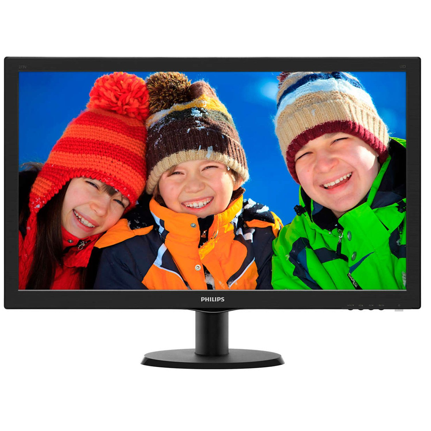 MONITOR PHILIPS 27i IPS - 1920*1080 ALTAVOCES 2*2W - VGA - DVI-D - HDMI
