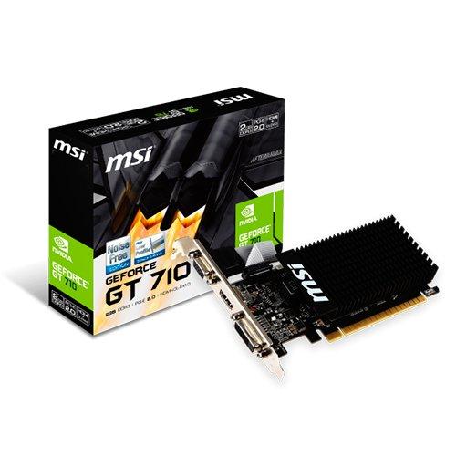 VGA GT 710 2GB GDDR3 MSI VGA DVI HDMI