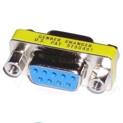 Mini cambiador de genero DB9 H/H