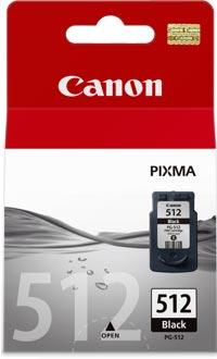 PG-512 Cartucho de tinta Negra Canon (15ml)