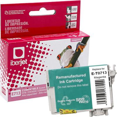 T0713 Cartucho de tinta Magenta Epson Compatible Iberjet