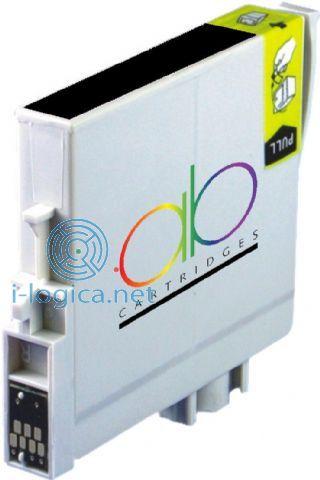 T0611 Cartucho de tinta negro Epson (compatible) Iberjet