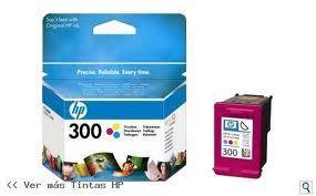 300 cartucho de tinta tricolor HP (165pg)