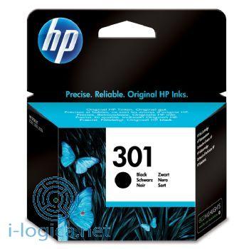 301 Cartucho de tinta negro HP (190 pag.)