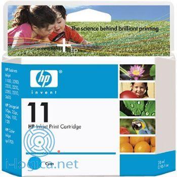 11 Cartucho de tinta cian HP (28ml.)