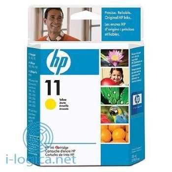 11 Cartucho de tinta amarilla HP (28ml.)