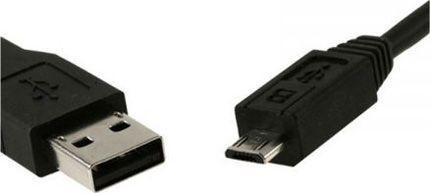 Cable USB 2.0 Tipo A Macho/Micro B Macho 1,8m.