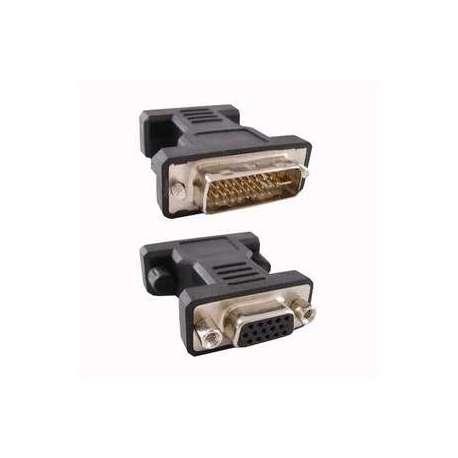 Adaptador DVI 24+5 Macho a VGA HDB 15 Hembra Nano Cable