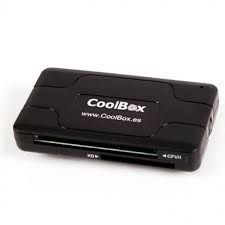 Lector de tarjetas CoolBox