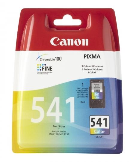 541 Cartucho de tinta tricolor Canon (8ml.)