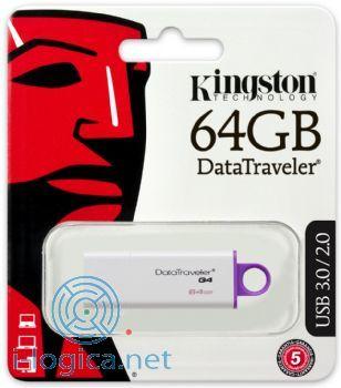 64GB Memoria USB 3.0 DTI G4 Kingston