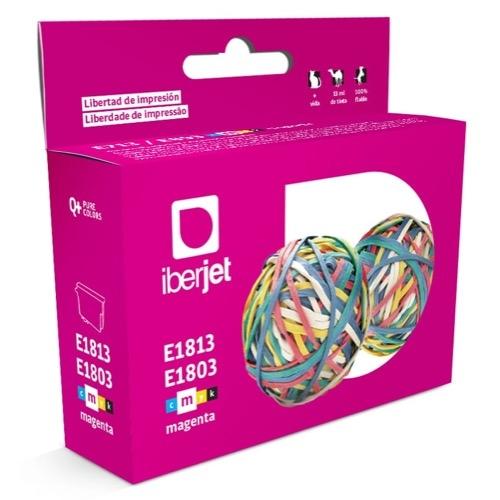 E1813/E1803 Cartucho de tinta magenta Epson (Compatible Iberjet)