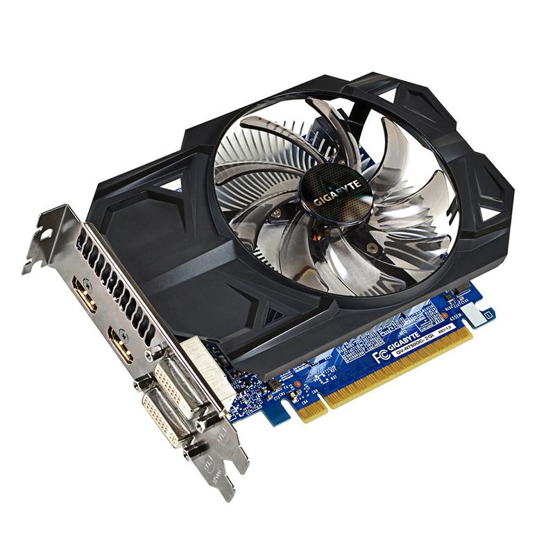Gráfica GForce GTX 750 2GB DDR5 HDMI DVI GigaByte
