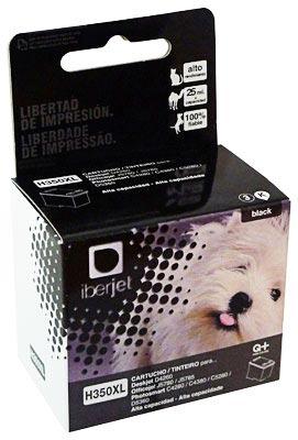 350XL Cartucho de tinta Negra HP (1000p) Compatible Iberjet