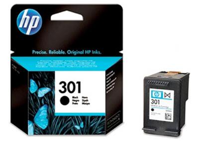 301 Cartucho de tinta negro HP (190pag)