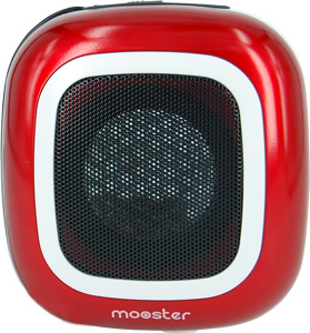 Altavoz portátil mini Moonster rojo