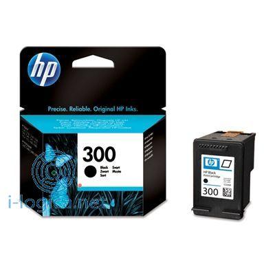 300 cartucho de tinta negro Hp (200pg)