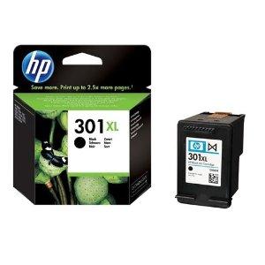 301XL Cartucho de tinta negra HP (480 pag)