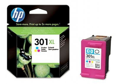 301XL Cartucho de tinta color HP (330pag)