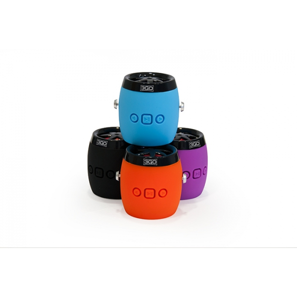 DAMPY Altavoz Bluetooth Black 3GO
