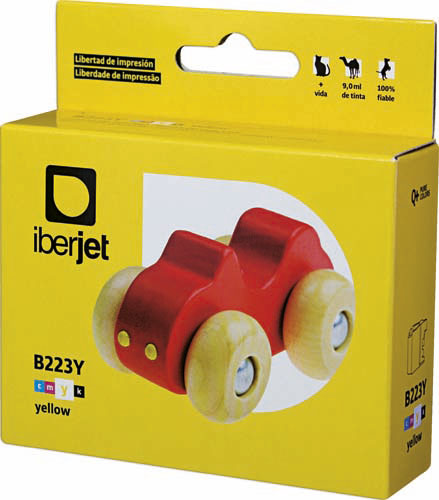 LC223Y Cartucho de tinta amarilla Brother (Compatible Iberjet)