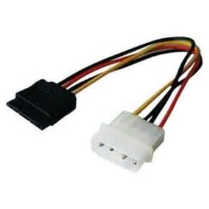 Cable Molex-M a Sata-H 16cm.
