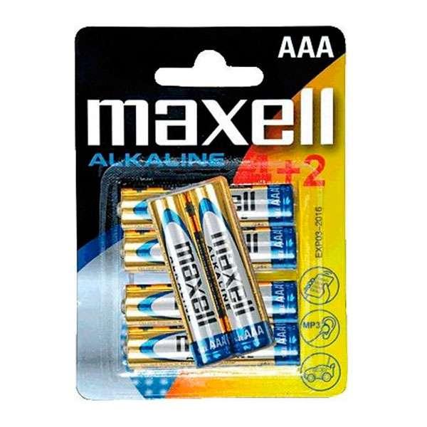 Pilas AAA LR03 alcaline Maxel