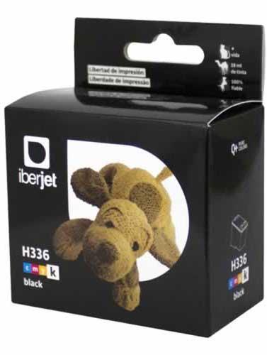 336 Cartucho de tinta negra HP (Compatible Iberjet)