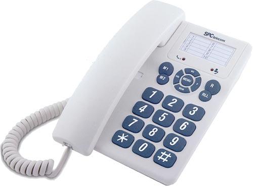Teléfono sobremesa fácil uso SPC SKU3602B