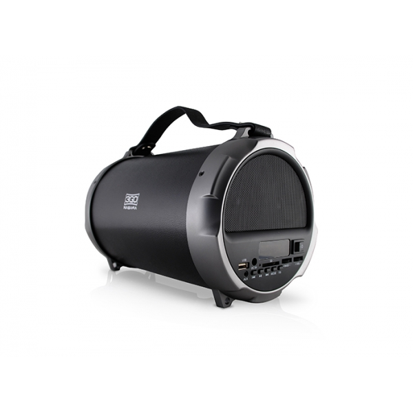 Altavoz Nagara 12W + 3Wx2 BlueTooth MP3 Subwoofer Recargable 3GO