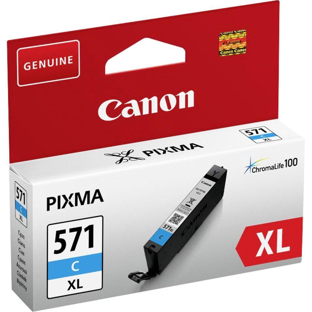CLI-571XL Cartucho de tinta cian C Canon 10,8ml.