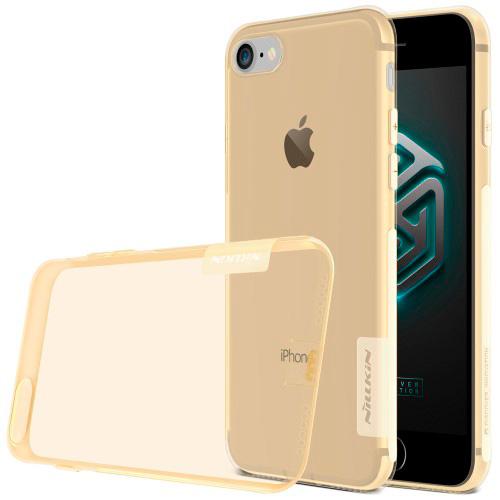 Funda trasera tpu Iphone 7 Nature 0.6mm dorada