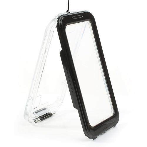 Carcasa estanca iPhone SE/ 5c / 5s / 4 / 4s negra