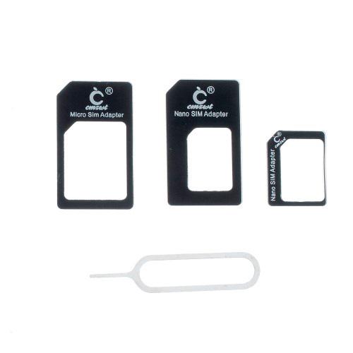 Adaptador de tarjetas 3 en 1 nano sim /micro sim /sim