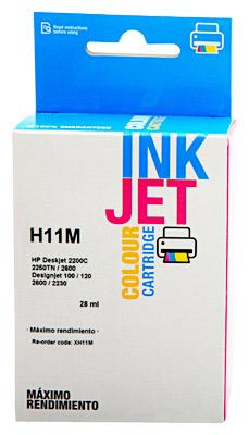 11 Cartucho de tinta Magenta HP (Compatible Inkjet)