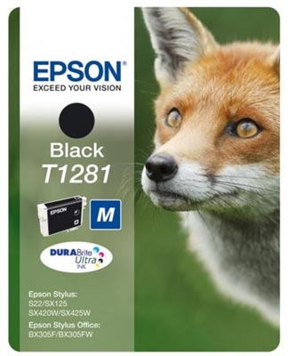 T1281 Cartucho de tinta negra Epson