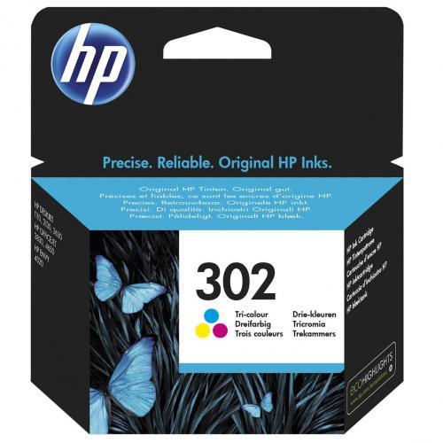 302 Cartucho de tinta tricolor HP (165pg.)