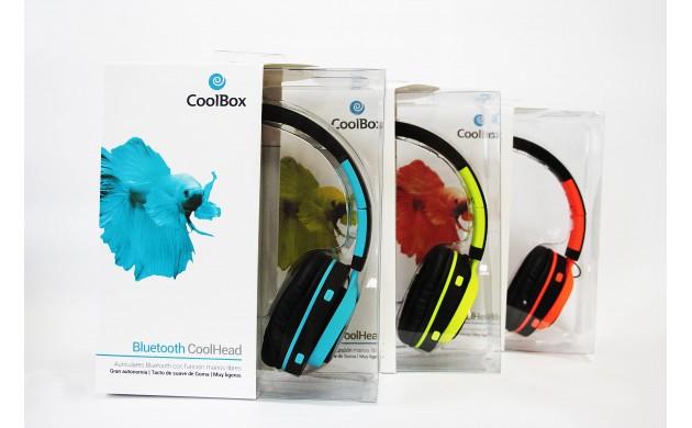 CoolHead Auriculares Bluetooth y manos libres Naranja CoolBox