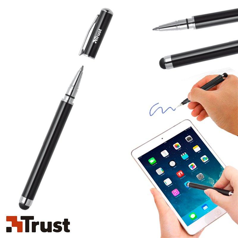 Puntero + bolígrafo color Negro Trust