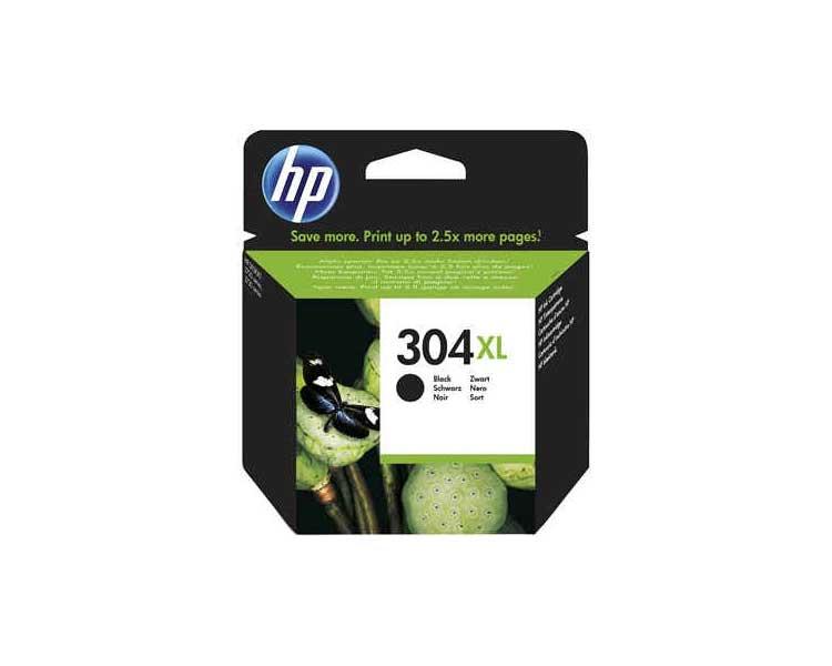 304XL Cartucho de tinta Negra HP (300pgs.)