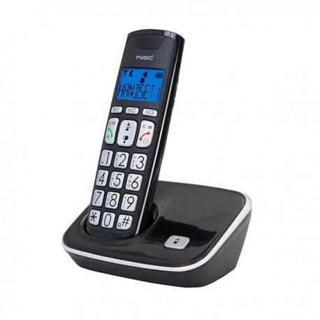 FX7000 Teléfono inalámbrico fácil uso Fysic