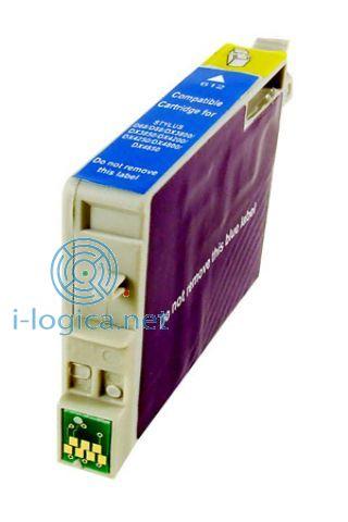 T0612 Cartucho de tinta Cian Epson (8ml) Compatible iberjet