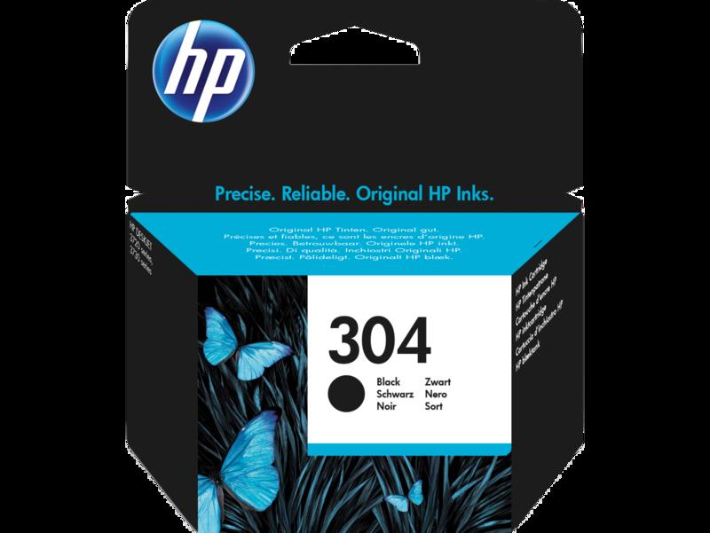 304 Cartucho de tinta Negra HP (300pgs.)